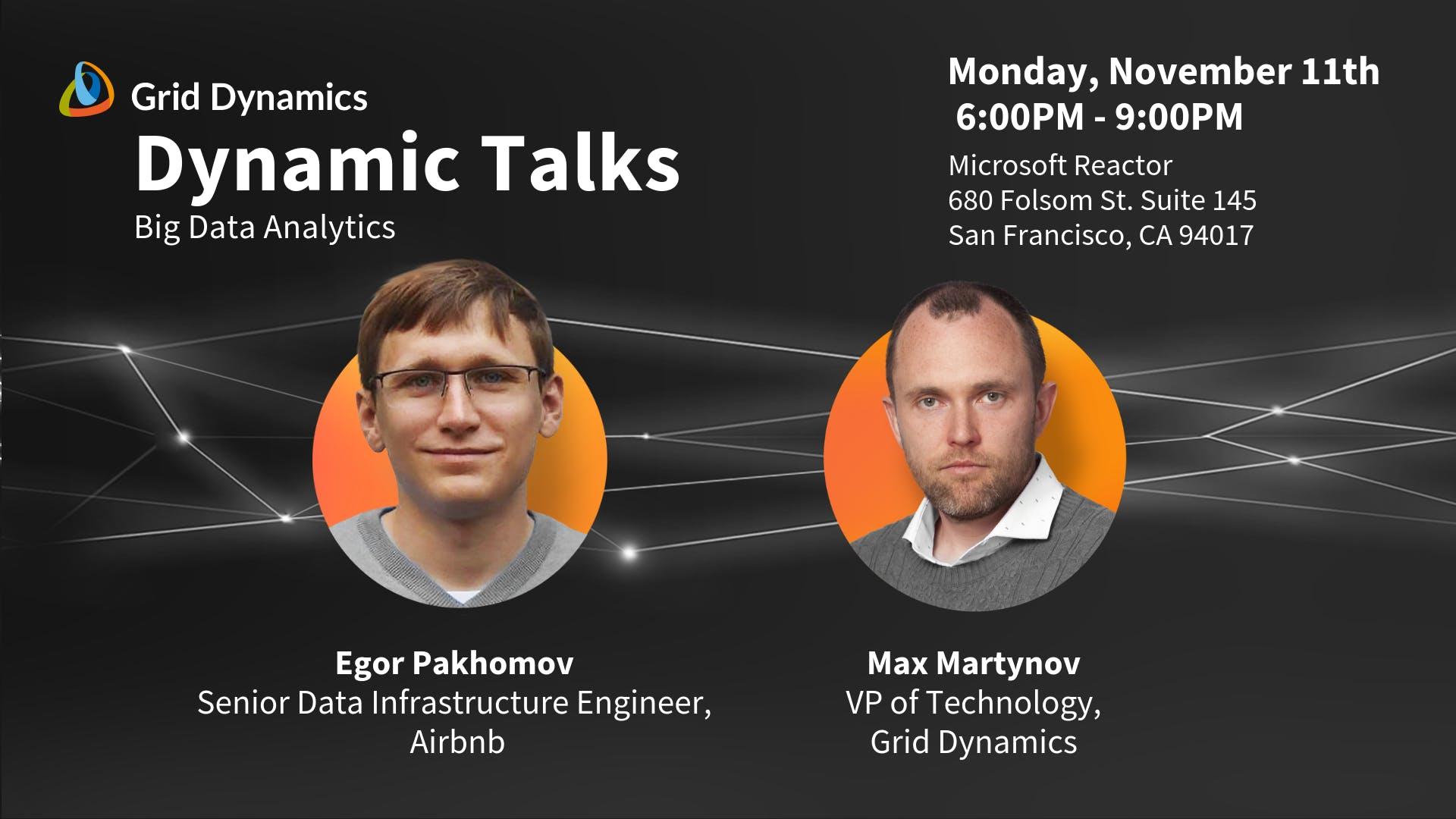 Dynamic Talks San Francisco Big Data Analytics