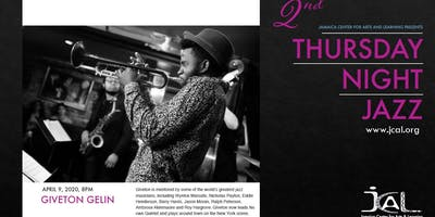 Thursday Night Jazz with Giveton Gelin