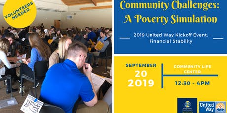 Community Challenges: A Poverty Simulation Event tickets