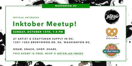 Inktober Meetup in Washington, DC! tickets