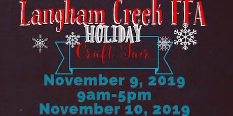 Langham Creek FFA Holiday Craft Show tickets