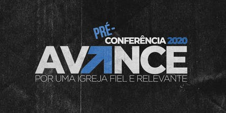 Pré-Conferência Avance - RJ ingressos