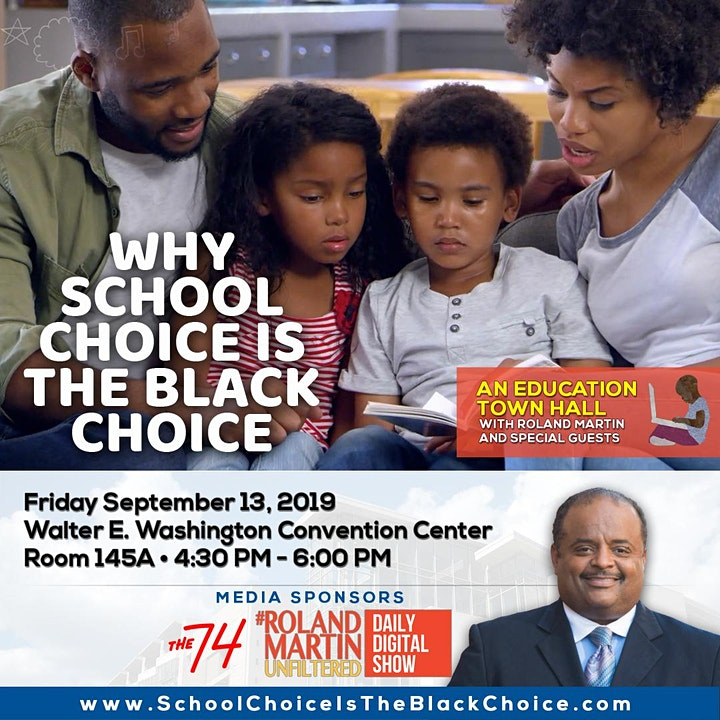 """""""Why School Choice is the Black Choice"""" Issue Forum image"""