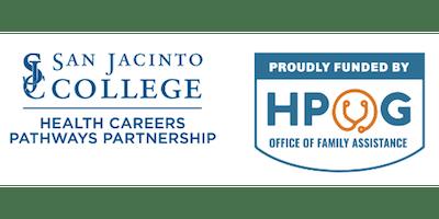 HPOG Info Session San Jacinto College, Central Campus 9/24/19