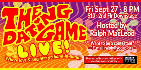 The Dating Game Live! tickets