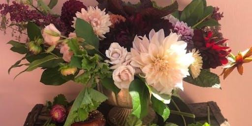 Fall Floral Workshop with Viavi Farms