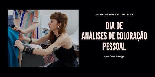Dia de Análise de Cor em São Paulo - 26 de setembro