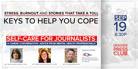 Self-Care for Journalists: Keys to Help you Cope tickets