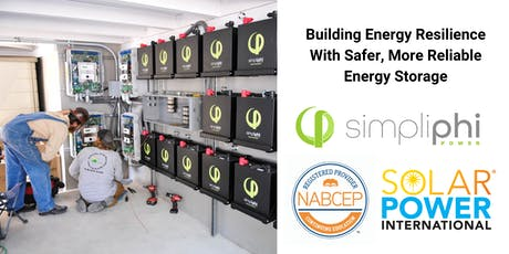 Building Energy Resilience With Safer, More Reliable Energy Storage tickets