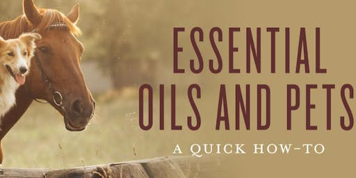 Essential Oils & Pets: How To Guide