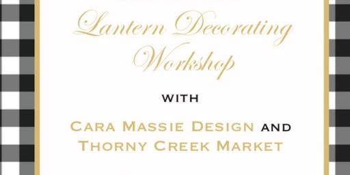 Lantern Decorating Workshop