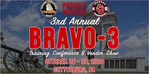 2020 BRAVO-3 Training Conference & Vendor Show