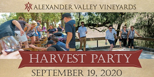 Harvest Party 2020