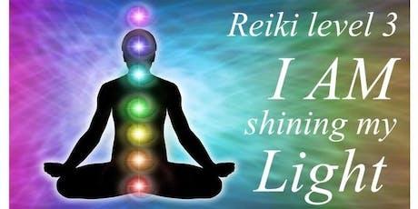 Reiki Level 3 - Living Love & Light tickets