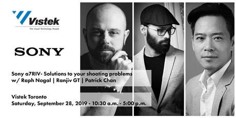 "Sony ""Be Alpha Event"" - ""Solutions to your shooting problems"" tickets"