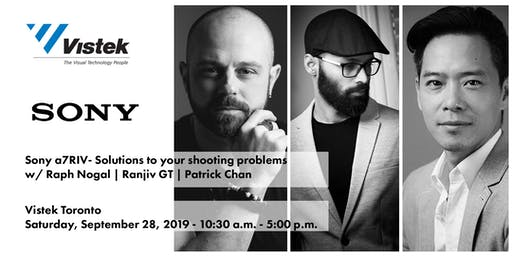 "Sony ""Be Alpha Event"" - ""Solutions to your shooting problems"""