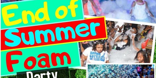 1st Annual End Of Summer Foam Party