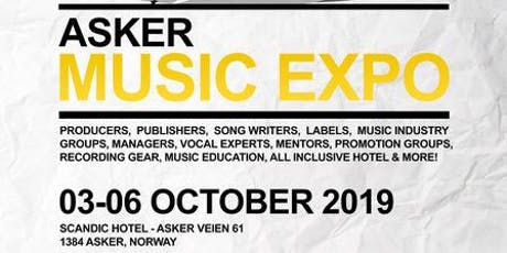 Asker Music Expo 2019 tickets