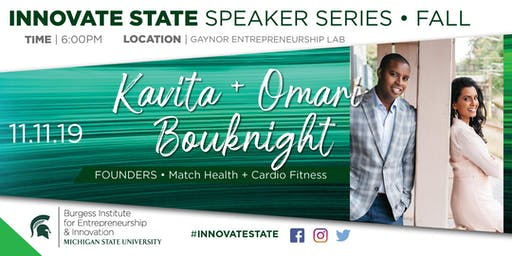 Innovate State, with Kavita + Omari Bouknight