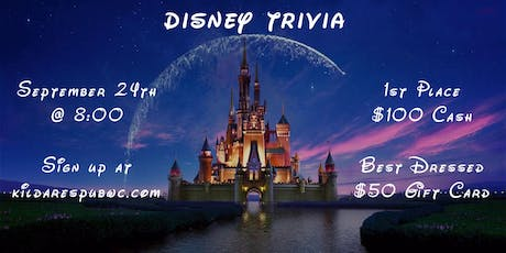 Disney (Movie and Music) Trivia Night tickets