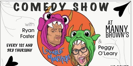 Lovable Monsters & Friends Comedy Show tickets