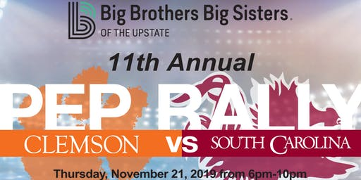 Big Brothers, Big Sisters of the Upstate 11th Annual Pep Rally