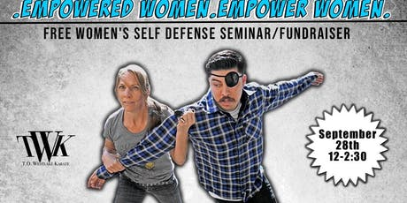 Free Women's Self Defense Fundraiser tickets