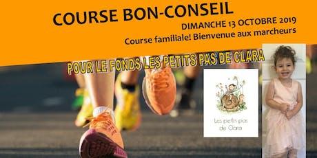 Course Bon-Conseil billets