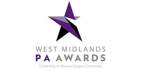 West Midlands PA Awards Roadshow - Birmingham City Centre tickets