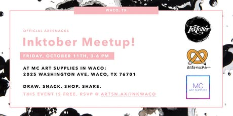 Inktober Meetup in Waco! tickets