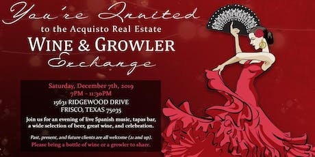 Annual Acquisto Real Estate Wine & Growler Exchange 2019 tickets