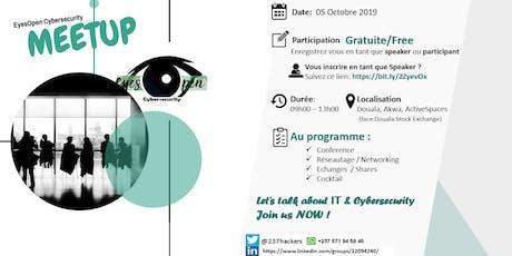 Cybersecurity Meetup - by EyesOpen Sec. billets