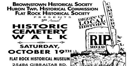3rd Annual Historic Cemetery Walk tickets