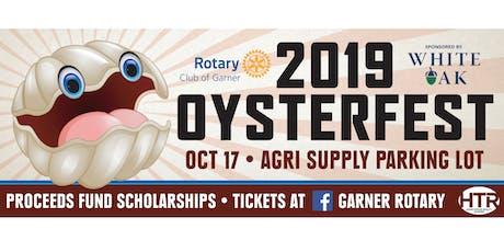 15th Annual Garner Rotary OysterFest tickets