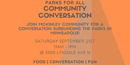 Community Conversation - Parks For All, 3 of 3
