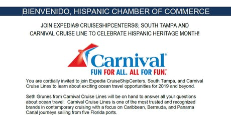 Expedia Cruise Center  - Hispanic Heritage Month Networking tickets