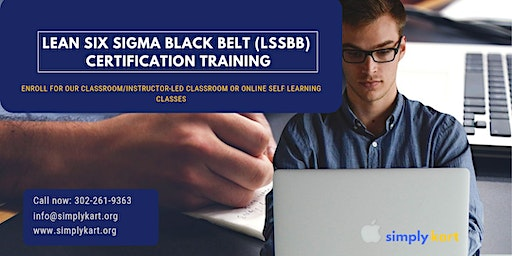 Lean Six Sigma Black Belt (LSSBB) Certification Training in  Kildonan, MB