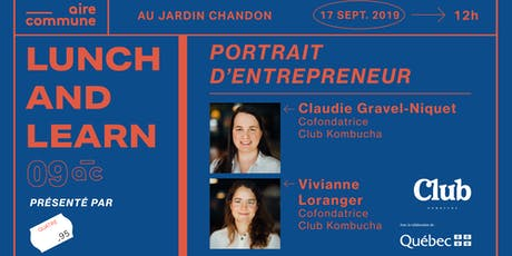 09AC | Quatre95 - Portrait d'entrepreneur #2 - Club Kombucha billets