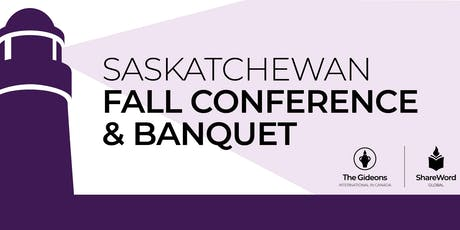 2019 Gideons Saskatchewan Fall Conference  tickets