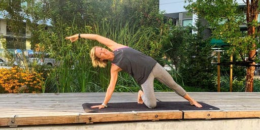Free Yoga in River District's Town Centre