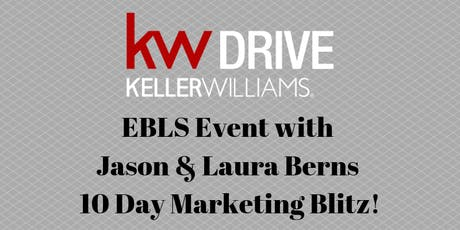 EBLS Event with Jason & Laura Berns - 10 Day Marketing Blitz! tickets
