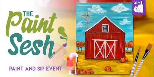 """Paint Night in Norco, CA - """"Pumpkin Harvest"""""""