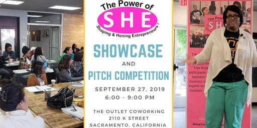 The Power of SHE Showcase & Pitch Competition