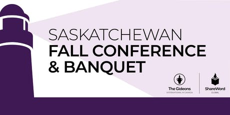 2019 Gideons Saskatchewan Fall Conference  tickets