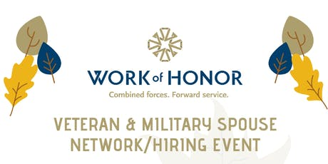 Business Network / Hiring Event for Veterans, Military Spouses & Business Professionals! tickets