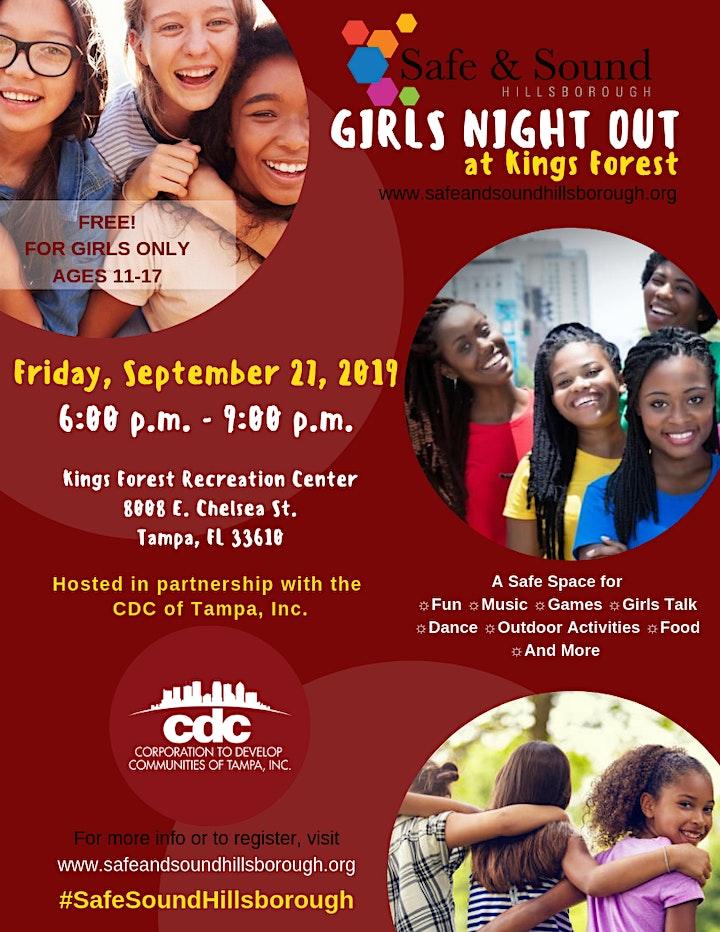 September Girls Night Out image
