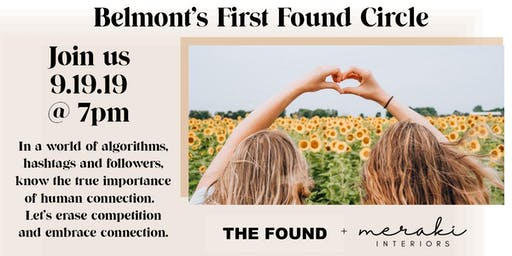 Belmont's First Found Circle