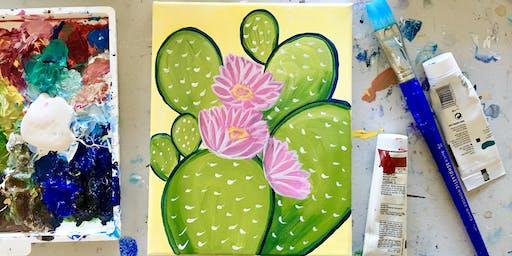 Paint Night: Cactus