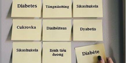 Journée scientifique diabète 2019-Parlons un même langage