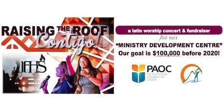 Raising The Roof Contigo tickets
